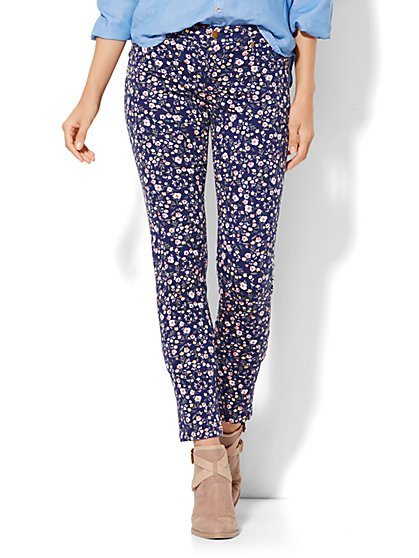 Soho Jeans - SuperStretch Legging - Ditsy Floral  - New York & Company