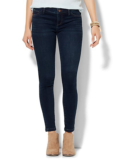 Soho Jeans - SuperStretch Legging - Highland Blue Wash - Petite  - New York & Company