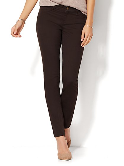 Soho Jeans - SuperStretch Legging - Solid  - New York & Company