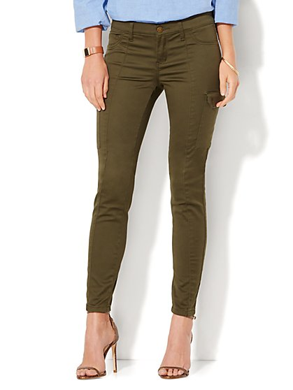 Soho Jeans - Superstretch Cargo - Legging  - New York & Company