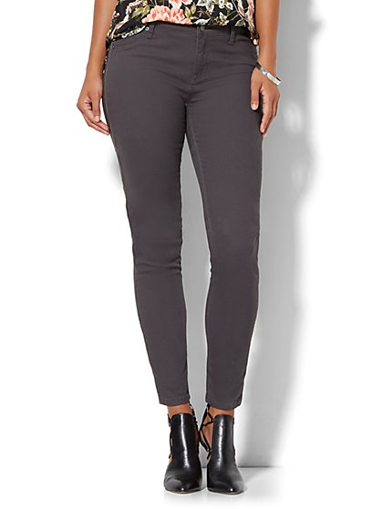 Soho Jeans - Zip-Accent Legging - New York & Company