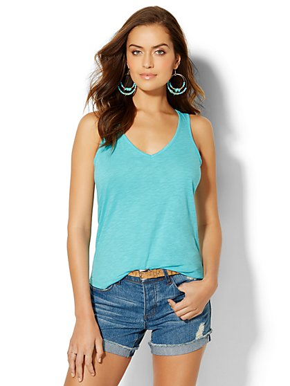 Soho Racerback Tank Top  - New York & Company