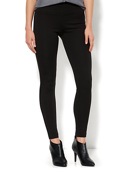 Soho Slimming Ponte Legging  - New York & Company