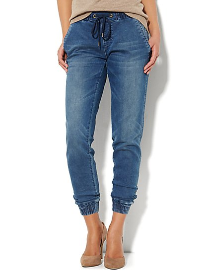 Soho Soft Jogger Jean - New York & Company