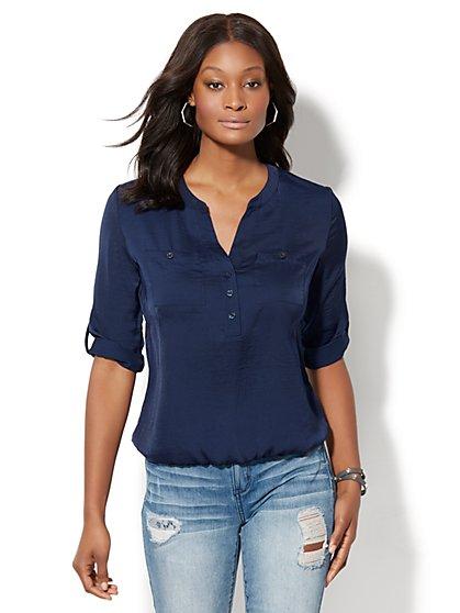 Soho Soft Shirt - Bubble Hem - New York & Company