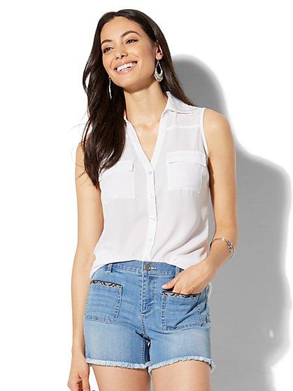 Soho Soft Shirt - Envelope Back - New York & Company
