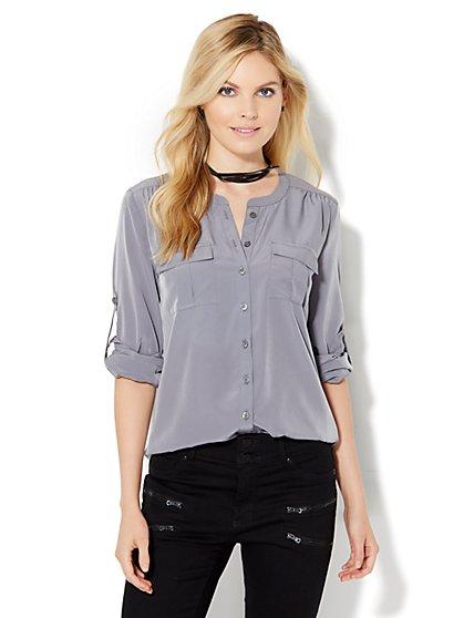 Soho Soft Shirt - Henley - New York & Company