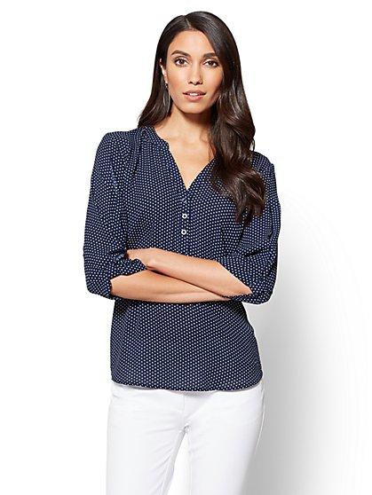 Soho Soft Shirt - Popover - New York & Company