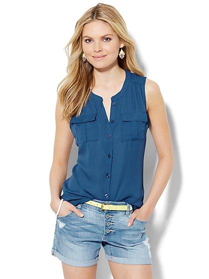 Soho Soft Shirt - Sleeveless  - New York & Company