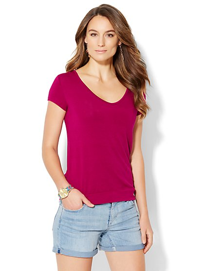 Soho Soft Tee - T-Back  - New York & Company