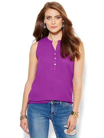 Soho Soft Tunic - Sleeveless - New York & Company