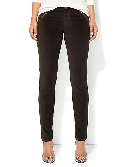 Soho Velveteen Legging  - New York & Company