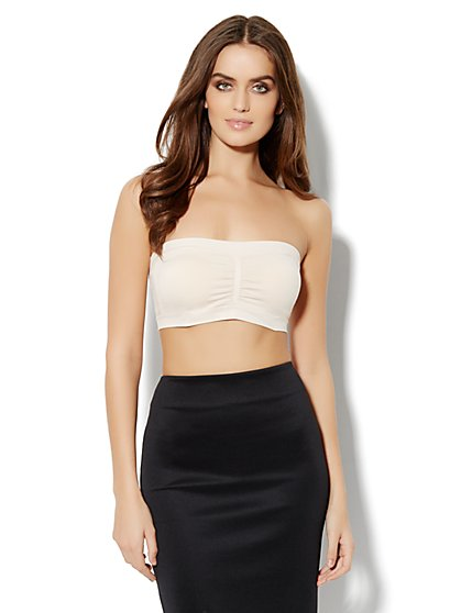 Solid Bandeau Bralette - New York & Company