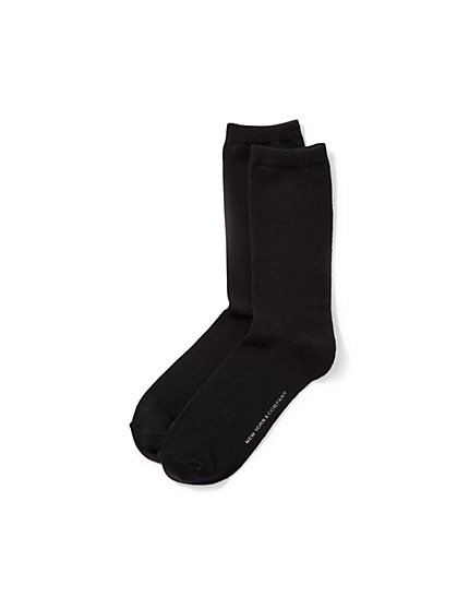 Solid Short Sock  - New York & Company