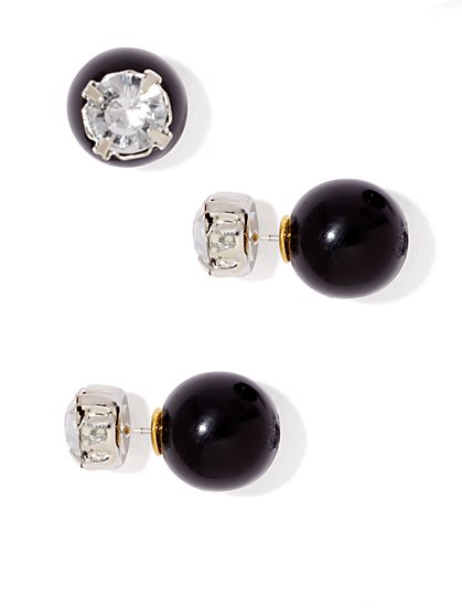 Sparkle Bead Stud Earring - New York & Company