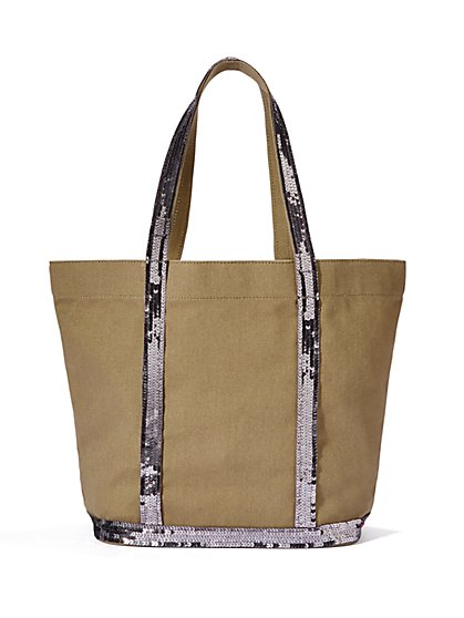Sparkle Canvas Tote