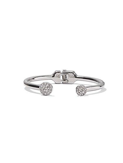 Sparkle Circles Hinge Bracelet - New York & Company