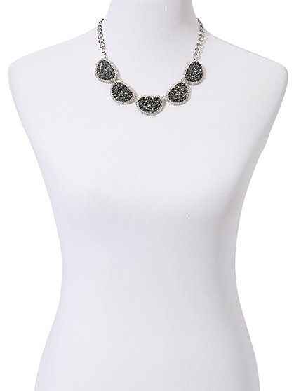 Sparkle Faux-Stones Necklace - New York & Company