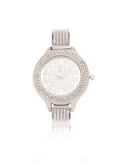 Sparkling Bangle- Bracelet Watch  - New York & Company