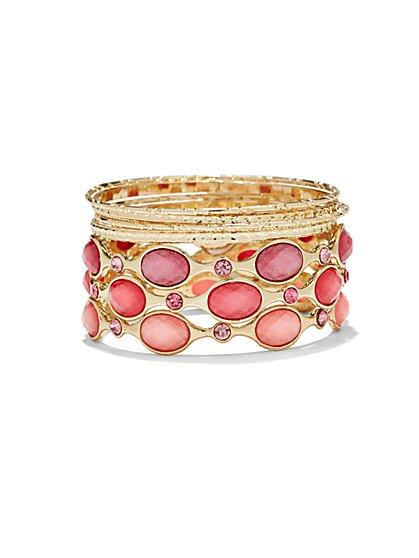 Sparkling Bangle Bracelet  - New York & Company