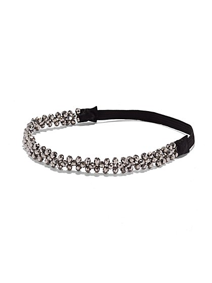 Sparkling Beaded Headband - New York & Company