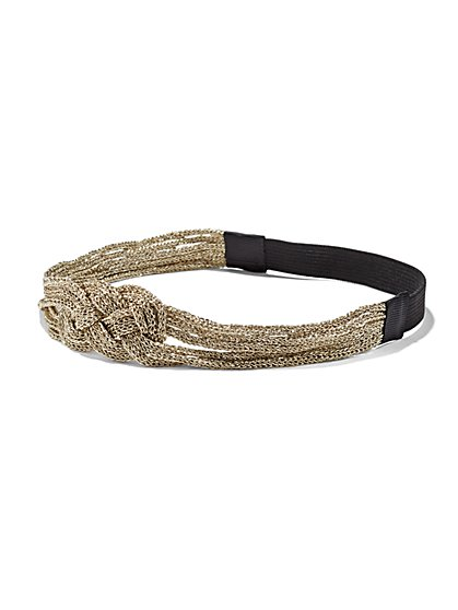 Sparkling Braided Headband  - New York & Company