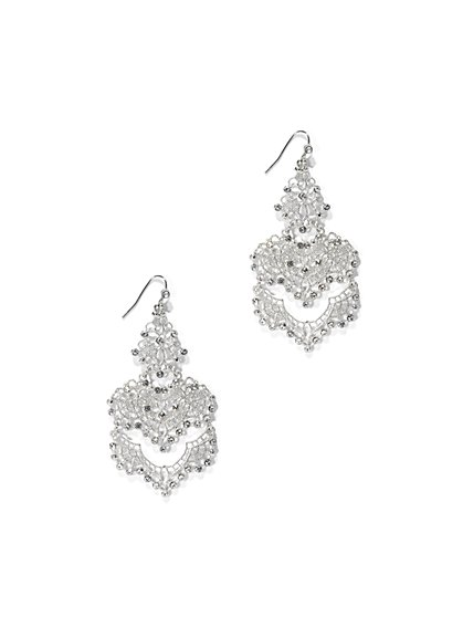 Sparkling Chandelier Earring  - New York & Company
