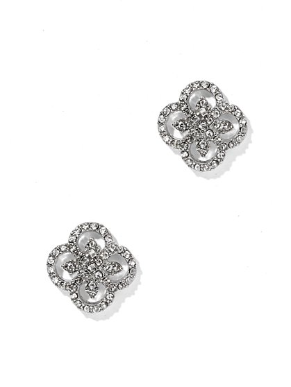 Sparkling Clover Post Earring - New York & Company