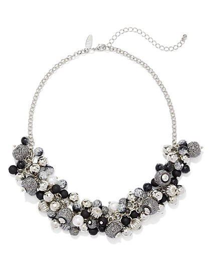 Sparkling Cluster Necklace  - New York & Company