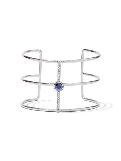 Sparkling Cutout Cuff Bracelet  - New York & Company