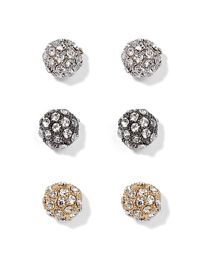 Sparkling Earring Set  - New York & Company