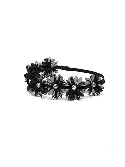 Sparkling Floral Headband  - New York & Company