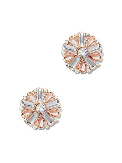 Sparkling Geo Earring - New York & Company