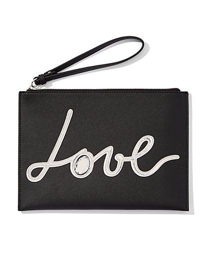 "Sparkling ""Love"" Pochette  - New York & Company"