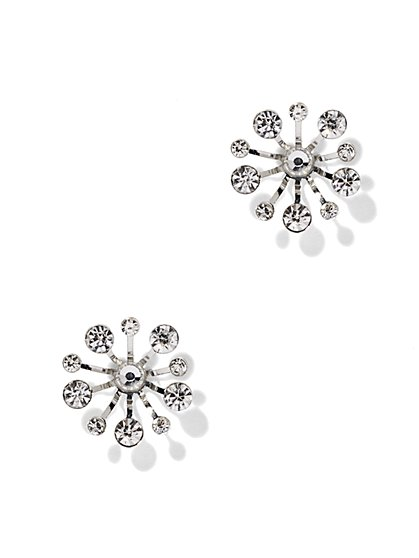 Sparkling Sunburst Post Earring  - New York & Company