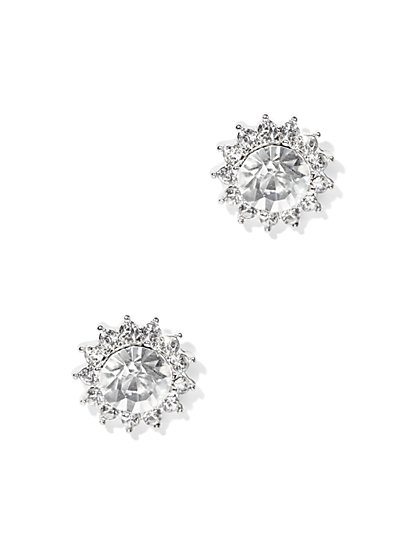 Sparkling Wreath Post Earring  - New York & Company
