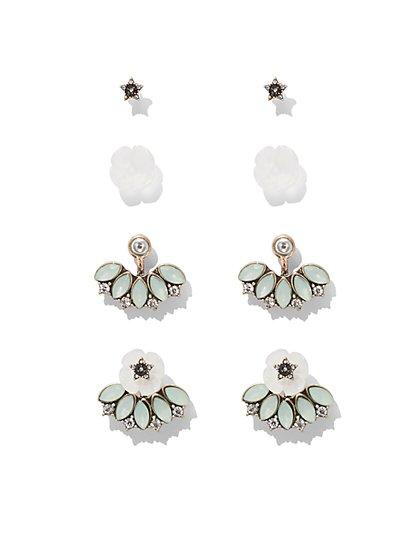 Spherical Drop Earring - Mint Green  - New York & Company
