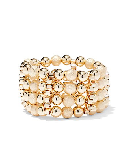 Spherical Stretch Bracelet  - New York & Company