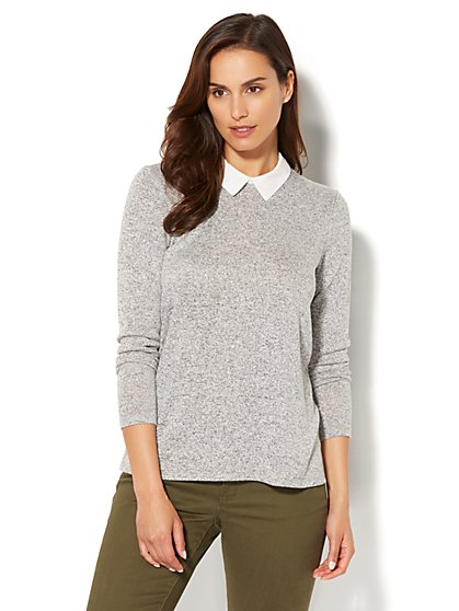 Split-Back Twofer Top - New York & Company
