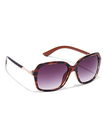 Square-Frame Sunglasses  - New York & Company