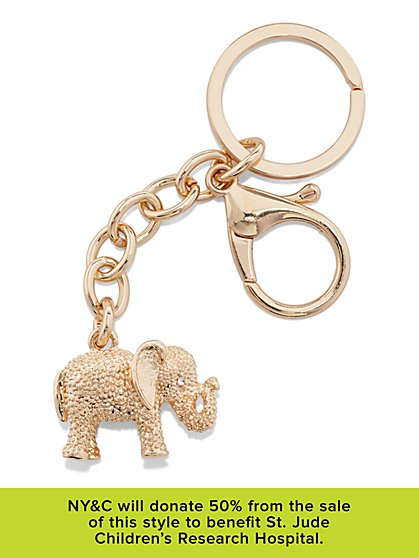 St. Jude Elephant Key Fob  - New York & Company