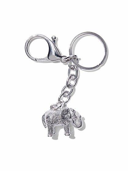 St. Jude Elephant Keychain  - New York & Company