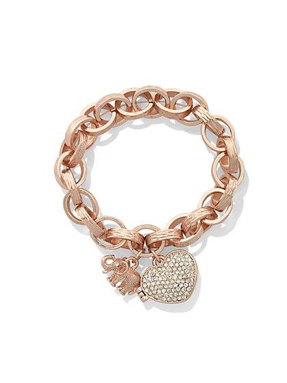 St. Jude Locket Bracelet  - New York & Company