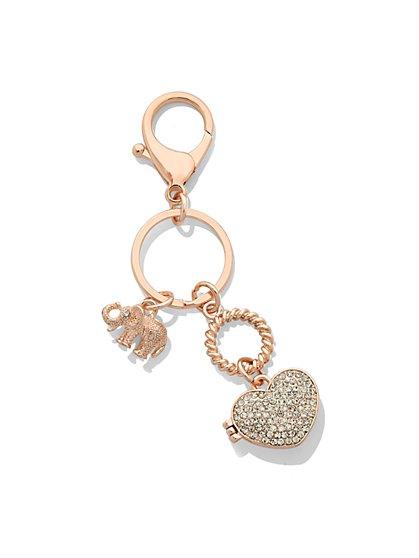 St. Jude Locket Keychain  - New York & Company