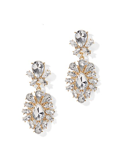 Stone Drop Earring - New York & Company