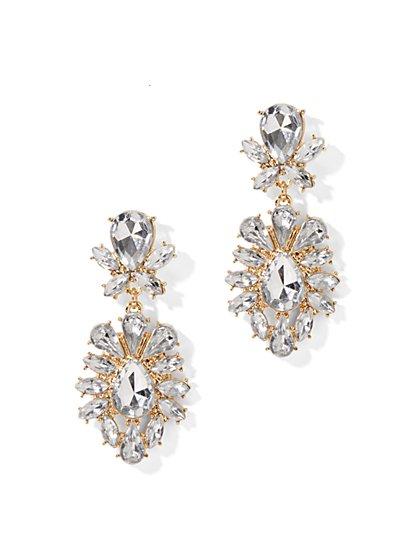 Stone Drop Earring - New York & Company