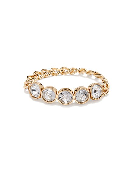 Stones & Links Bracelet