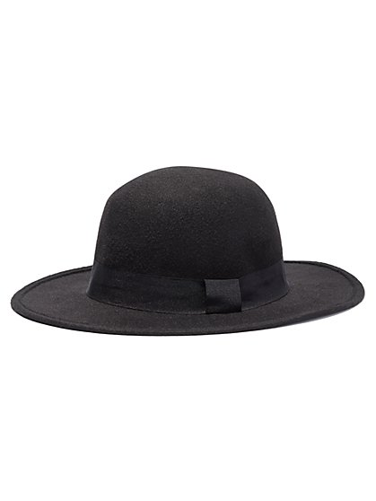 Straight-Brim Hat  - New York & Company