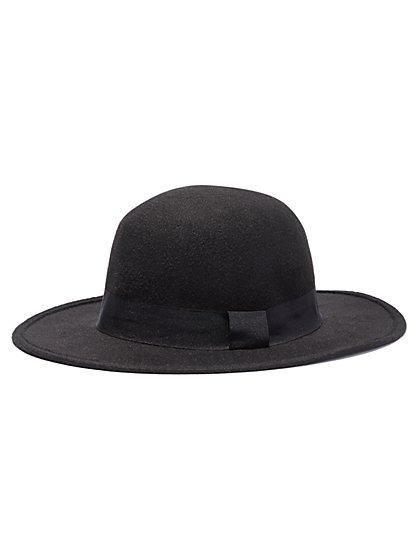 Straight-Brim Hat  - New York & Company