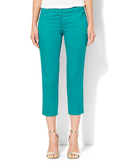 Straight-Leg Crop Pant  - New York & Company